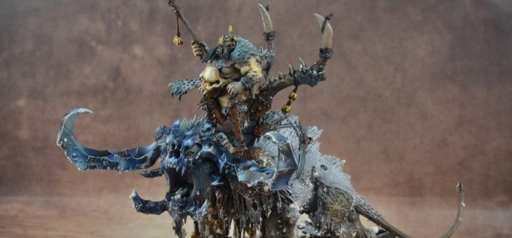 Ogre Kingdom Warhammer TT Basic lev